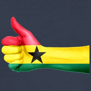 Ghana Flag - Slim Fit T-skjorte for menn