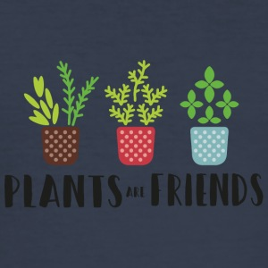 PLANTS in color - Men's Slim Fit T-Shirt