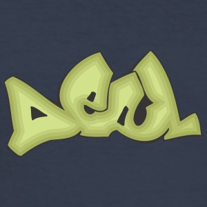 deal 2 graffiti - Slim Fit T-shirt herr