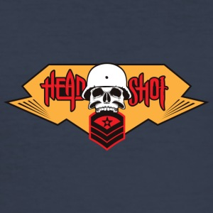 HEADSHOT COLLECTION - Männer Slim Fit T-Shirt