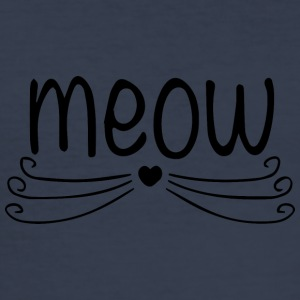meow - Men's Slim Fit T-Shirt