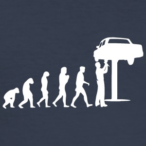 mekaniker evolution - Slim Fit T-shirt herr