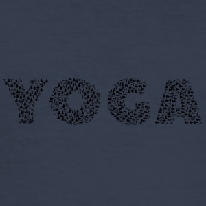 yoga - Slim Fit T-skjorte for menn
