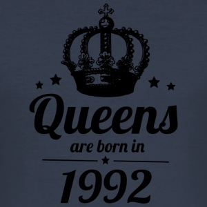 Queens 1992 - Men's Slim Fit T-Shirt