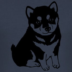 Söt hund COLLECTION - Slim Fit T-shirt herr