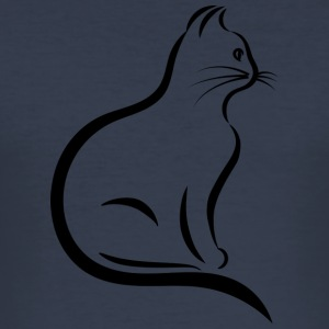 MY CAT COLLECTION - Herre Slim Fit T-Shirt
