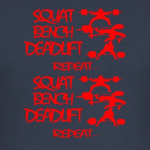 REPEAT Powerlifting - Tee shirt près du corps Homme