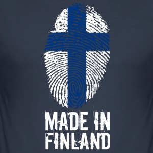Made in Finland / Gemacht in Finnland Suomi - Männer Slim Fit T-Shirt