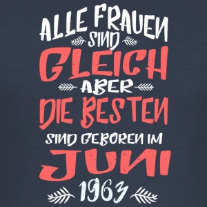 Juni 1963 - Männer Slim Fit T-Shirt