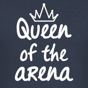 Queen of the arena - Men's Slim Fit T-Shirt