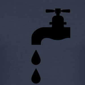 Dripping faucet for real plumber - Men's Slim Fit T-Shirt