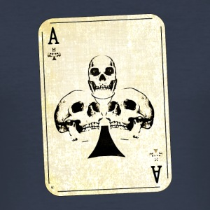 Ace of Skulls - Männer Slim Fit T-Shirt