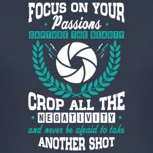 FOCUS On Your PASSION - Men's Slim Fit T-Shirt