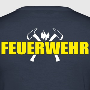 Firemen Axe - Men's Slim Fit T-Shirt