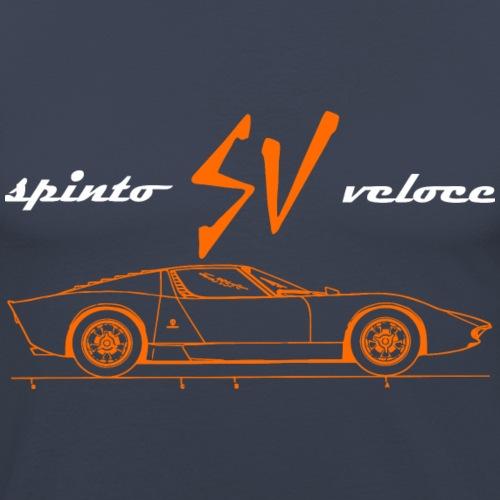 spinto veloce - Men's Slim Fit T-Shirt