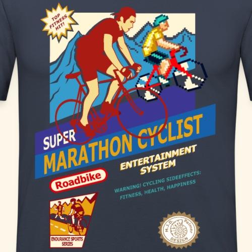 SUPER MARATHON CYCLIST - Maglietta aderente da uomo