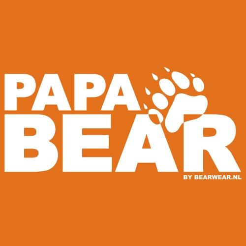 papa bear new - Men's Slim Fit T-Shirt
