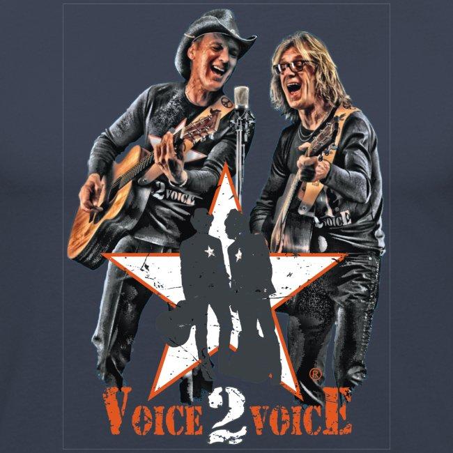 Voice 2 Voice T Shirt NEU 2015 3aTransparent png