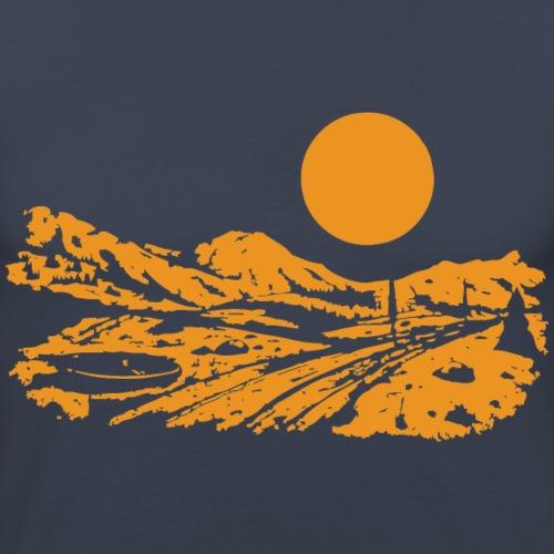 Riding Day - Männer Slim Fit T-Shirt