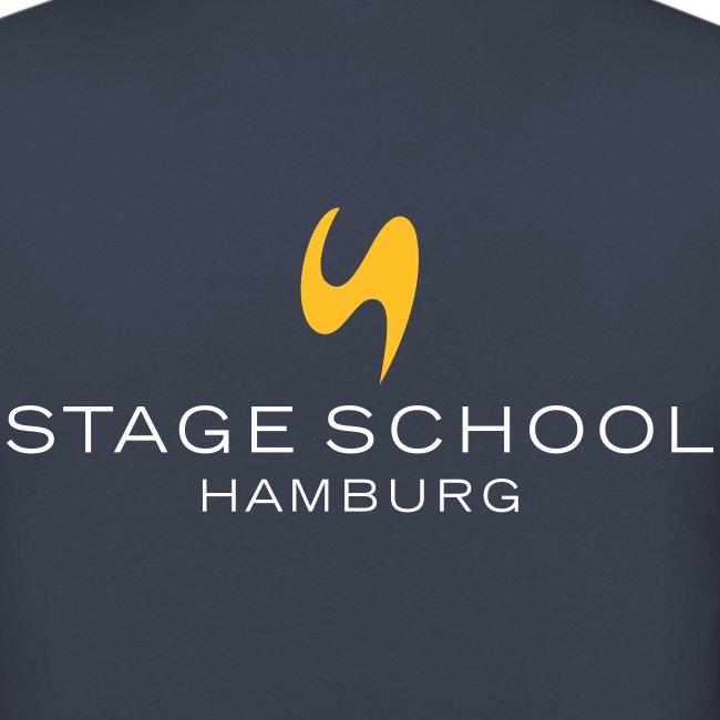 stage school logo neg