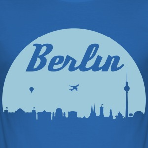 Berlin skyline - Men's Slim Fit T-Shirt