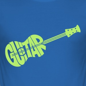 gitaar - slim fit T-shirt