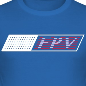 FPV Flag - Men's Slim Fit T-Shirt