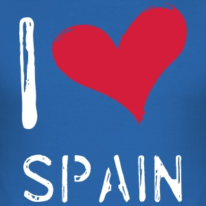 I love Spain - Men's Slim Fit T-Shirt