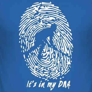 Hockey: Det är i min DNA - Slim Fit T-shirt herr