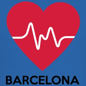 heart Barcelona - Men's Slim Fit T-Shirt