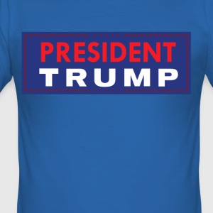 President Trump - Men's Slim Fit T-Shirt