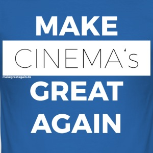 FAIRE CINEMAS GREAT AGAIN blanc - Tee shirt près du corps Homme