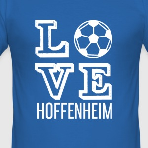 LOVE HOPE HJEMME - Slim Fit T-skjorte for menn