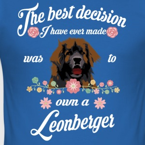 Leonberger - Slim Fit T-shirt herr