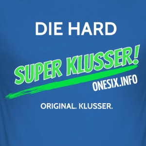 Super Klusser - Men's Slim Fit T-Shirt