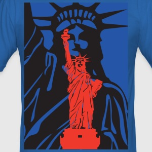 Statue of Liberty-statue of liberty-USA - Men's Slim Fit T-Shirt