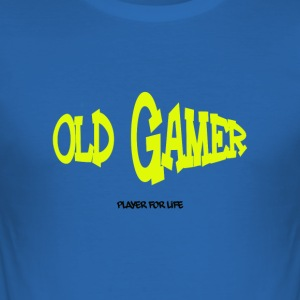 alt gamer - Männer Slim Fit T-Shirt