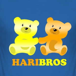 Haribros - Skjorten for real Bros - Herre Slim Fit T-Shirt