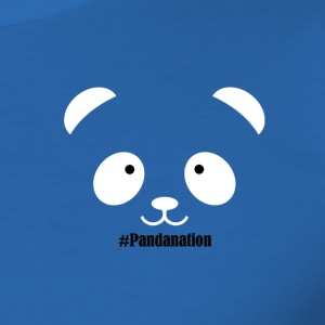 Pandanation2 - Herre Slim Fit T-Shirt