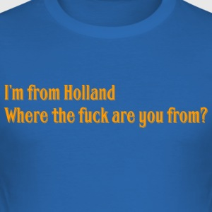 Holland - Männer Slim Fit T-Shirt