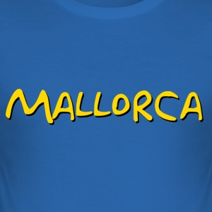 MALLORCA - Slim Fit T-shirt herr