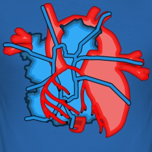 Boat in the Heart - Men's Slim Fit T-Shirt