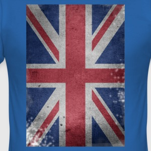 gb-flag Britain English Union Jack destroyed UK - Men's Slim Fit T-Shirt