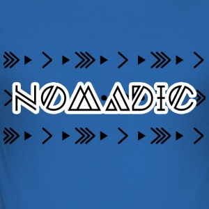 Hippie / Hippies: Nomadic - Slim Fit T-skjorte for menn