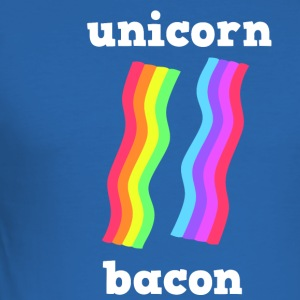 UNICORN baconremsor - Slim Fit T-shirt herr