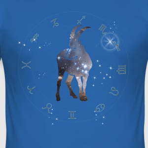 Stenbuk univers konstellation astrologi sternzeic - Herre Slim Fit T-Shirt