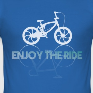 BMX Bike Bicycle Ride bike MTB mountain bike riding - Men's Slim Fit T-Shirt