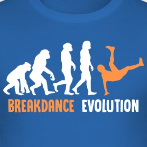 ++ ++ Breakdance Evolution - Men's Slim Fit T-Shirt