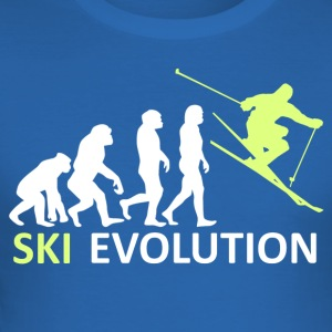 ++ ++ Ski Evolution - Herre Slim Fit T-Shirt