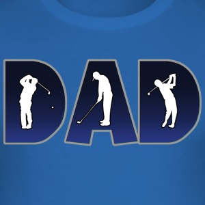 Golf Golfen Golfer DAD - slim fit T-shirt